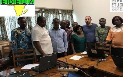 The É-DEIA Team in Lomé working with EleQta